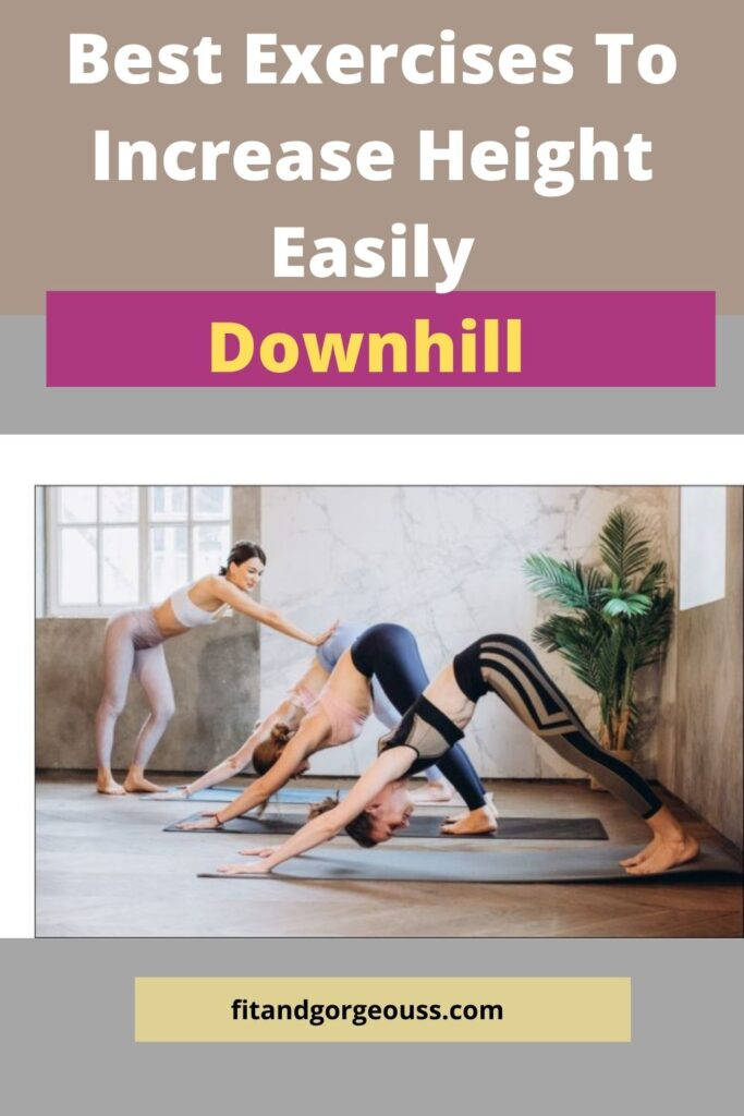 Downward dog-Best Exercises To Increase Height