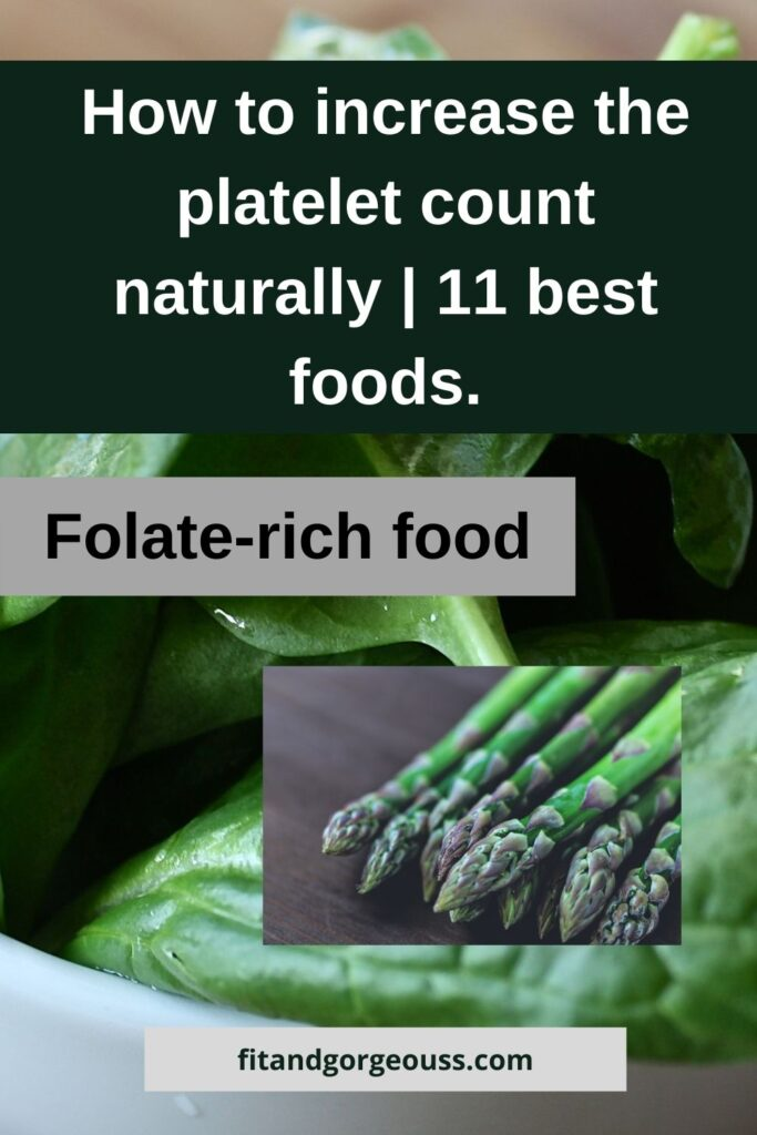 folate rich food
