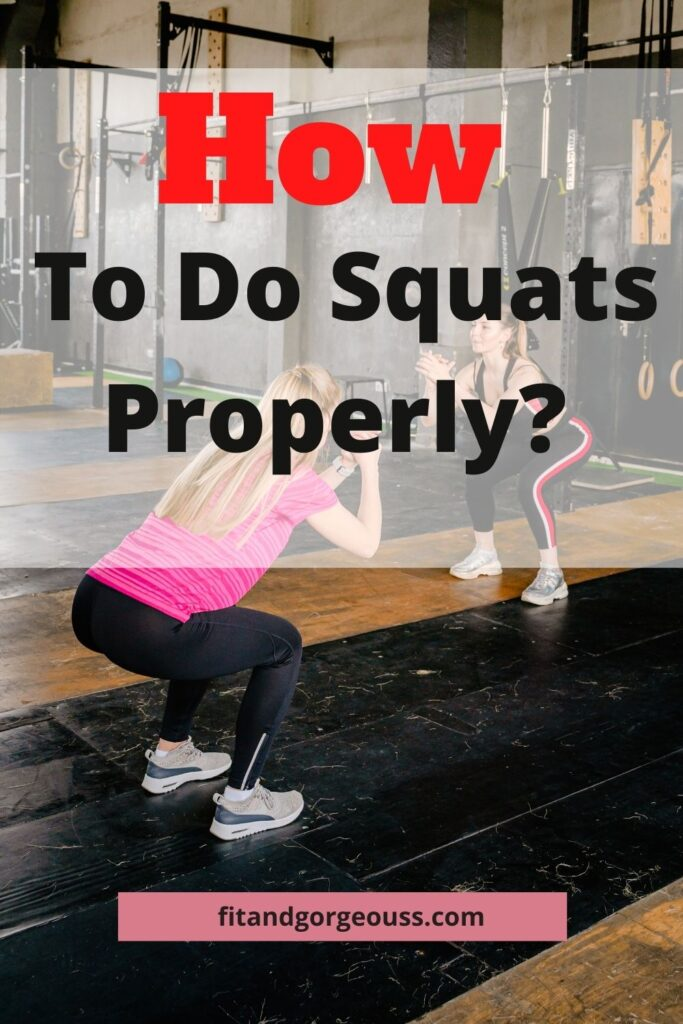 How To Do Squats Properly?|Step By Step Procedure For Squats